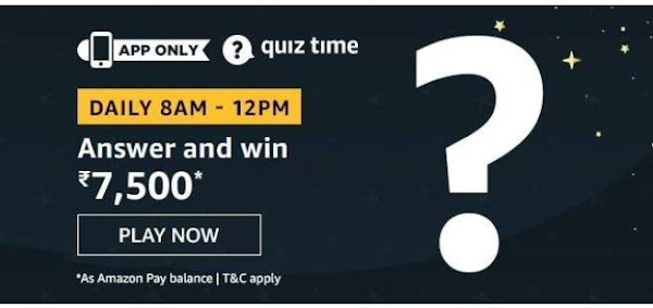 Today amazon daily quiz answers 17 august  2020