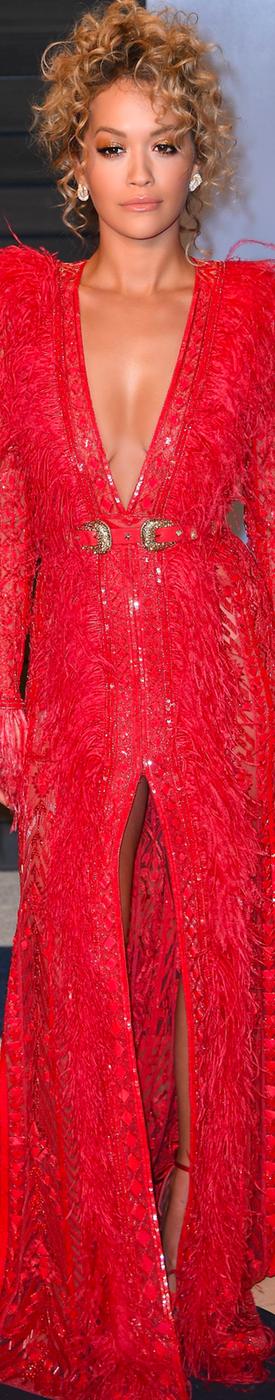 Rita Ora 2018 Vanity Fair Oscar Party
