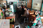 Himbau Kepada Pemilik Warung Dalam Situasi PPKM, Forkopimcam Menjalin Melaksanakan KRYD