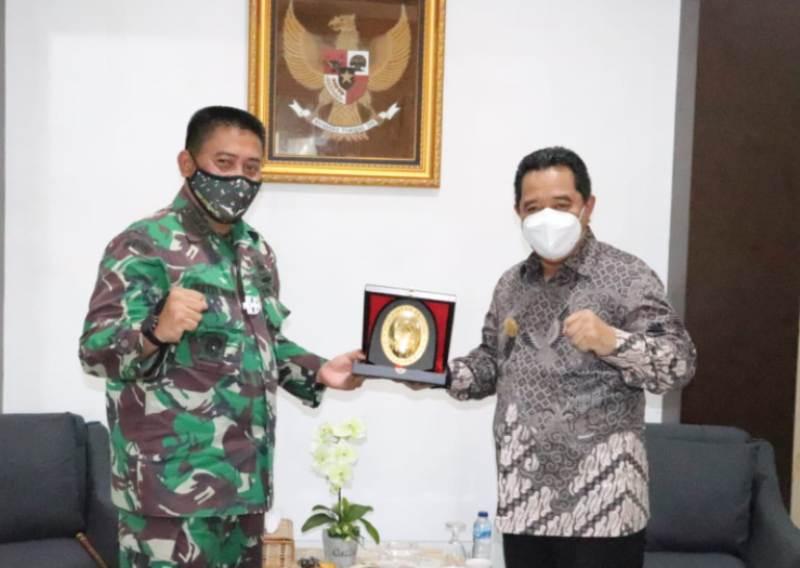 Pjs Gubernur Kepri Berikan Pujian dan Apresiasi ke Dandim 0315/Bintan Terkait Penerapan Protkes yang Ketat