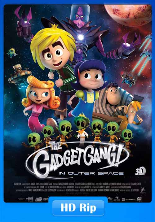 GadgetGang in Outer Space 2017 480p WEB-DL ESub 250MB x264