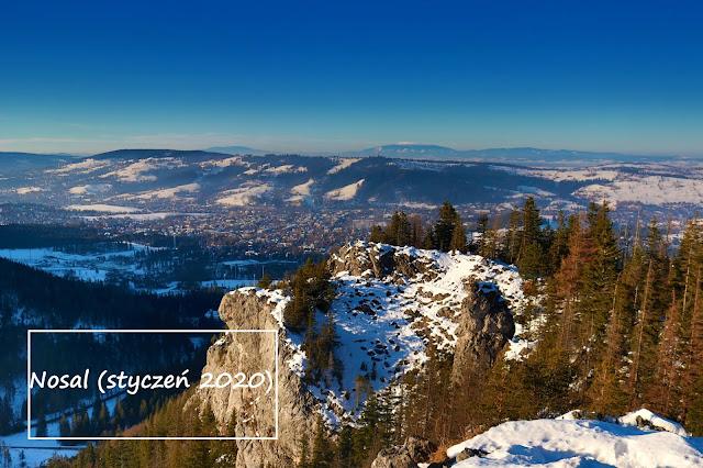 Tatry zimą: Nosal 1206 m n.p.m. (Tatry Zachodnie)
