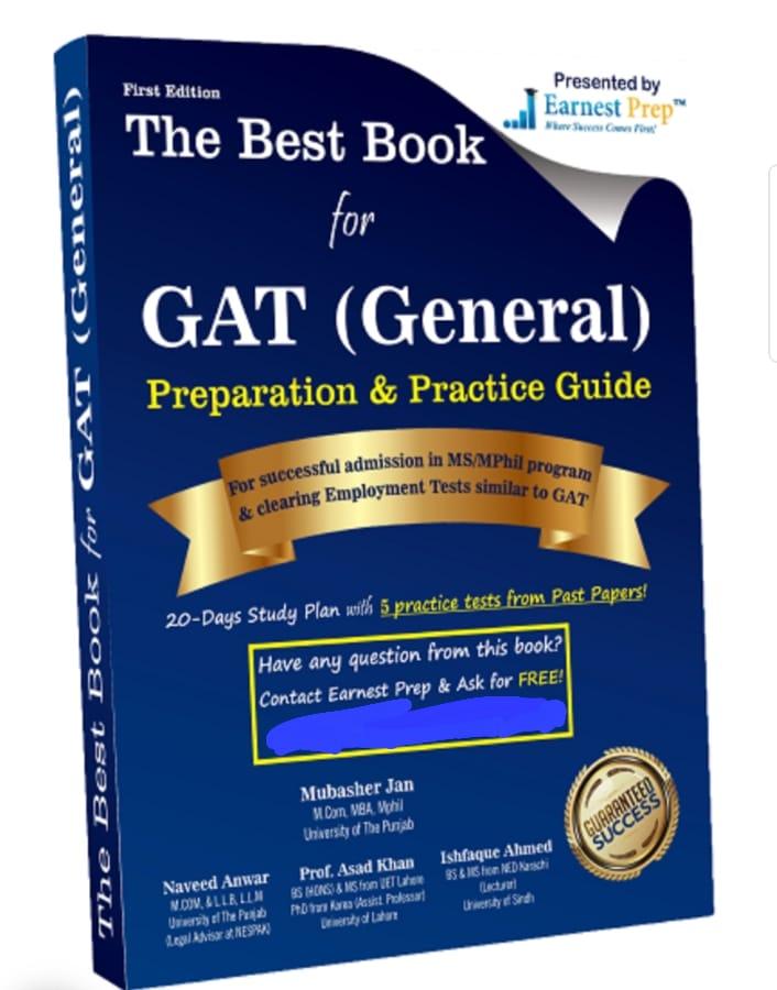 NTS GAT General 60 PDF Books Past Paper for Preparation free PDF Download 2022- Jobspk14.com