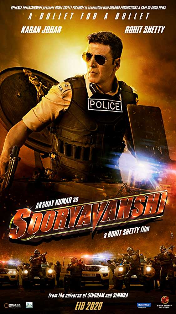 Sooryavanshi 2020 Full Movie Download In HD 1080p 720p 480p
