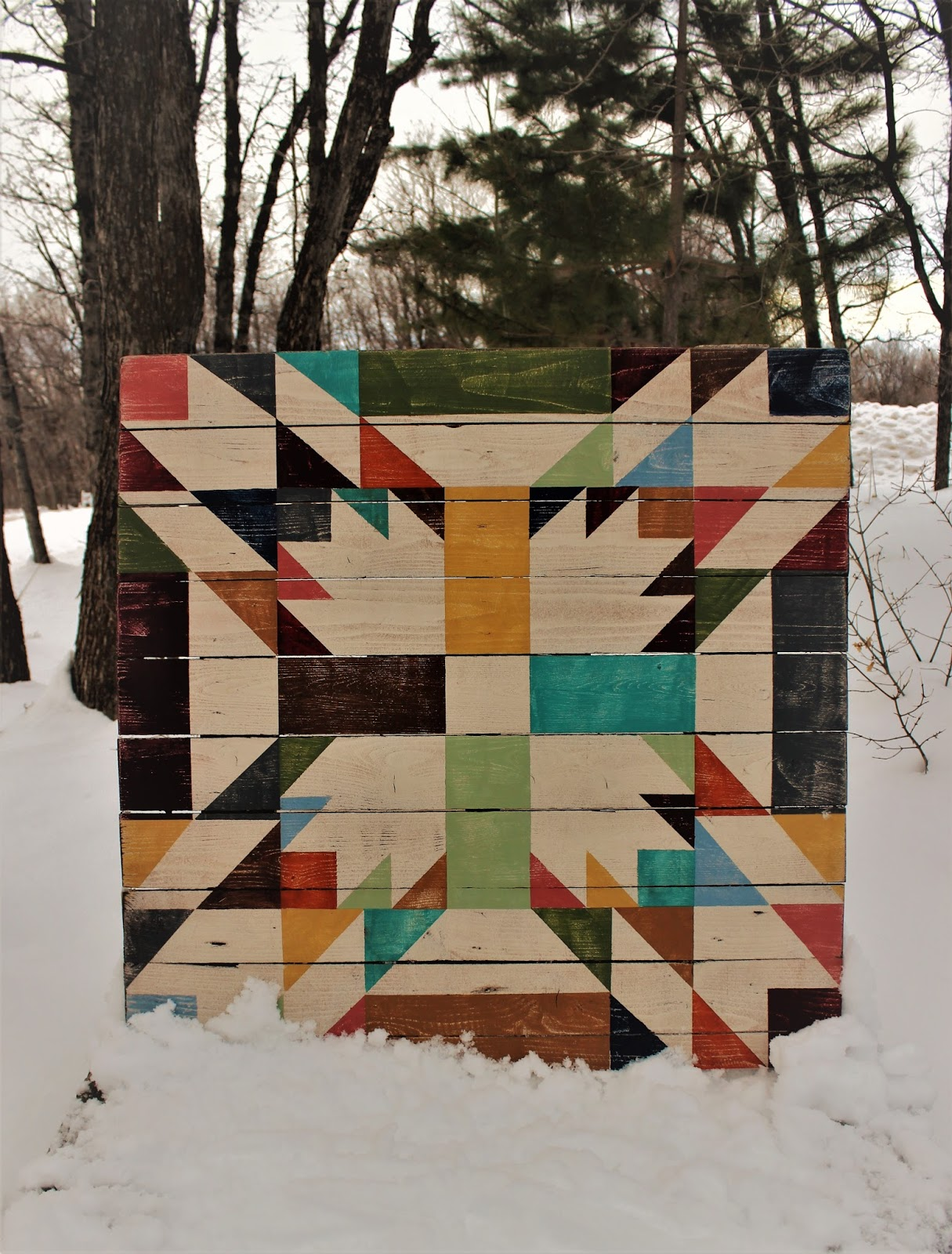 Tweetle Dee Design Co Bear Paw Barn Quilts