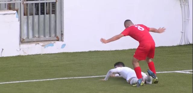 شاهد ملخص مباراة السعوديه ضد فلسطين