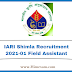 IARI Shimla Recruitment 2021-01 Field Assistant Post