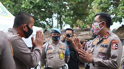 Kapolda Banten Dampingi Kakorlantas Polri, Cek Jalur Wisata Anyer