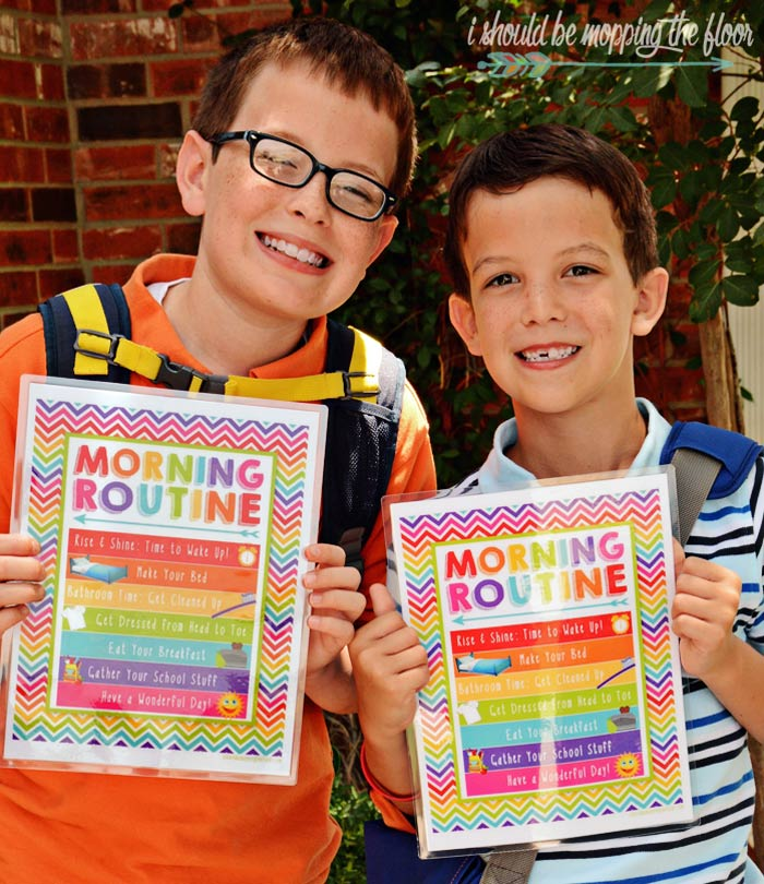 Free Morning Routine Printables
