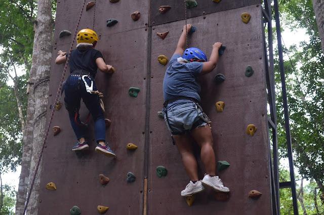 CHAP Bohol Adventure Curious Onion Wall Climbing