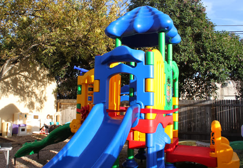 Austin Chabad Inaugurate New Outdoor Playgound at Herbrew Preparatory School Bais Menachem.