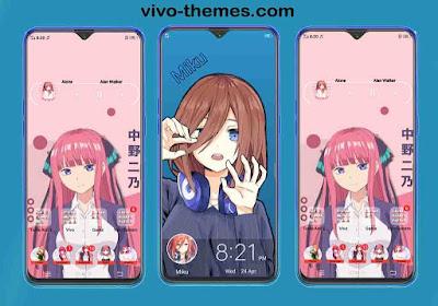 Miku Theme For Vivo Android Smartphone