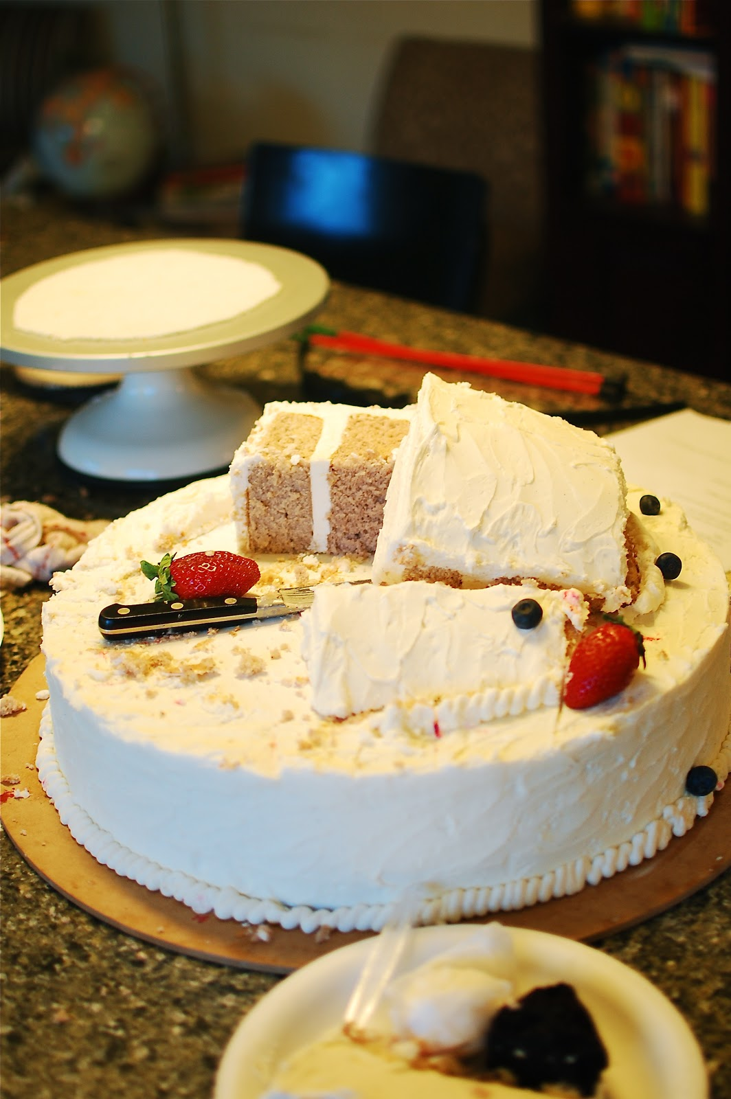 How To Make The Thinnest Slices Of Cake
