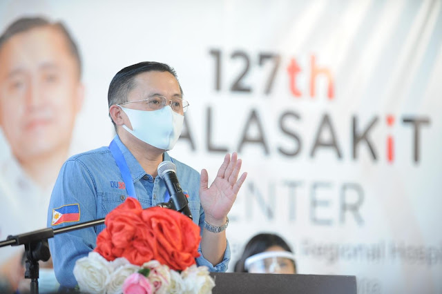 Go led launch of 127th Malasakit Center in Bacoor City
