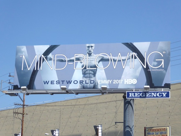 Westworld Mind-blowing 2017 Emmy FYC billboard