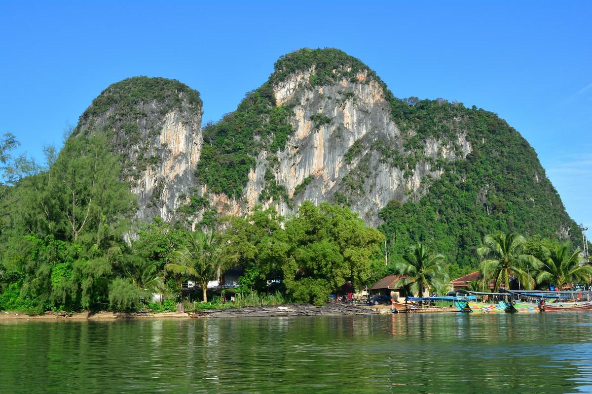 village de Phang Nga