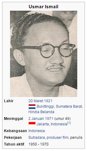 Biodata Usmar Ismail