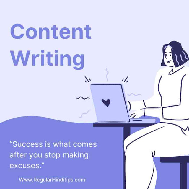 Content writing job for ladies