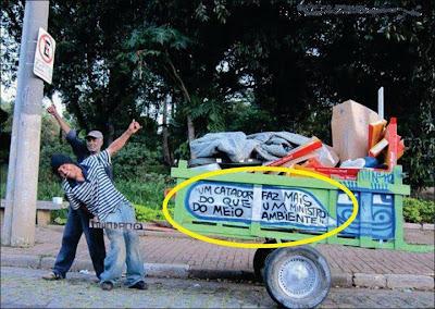 catador de lixo critica ministro do meio ambiente