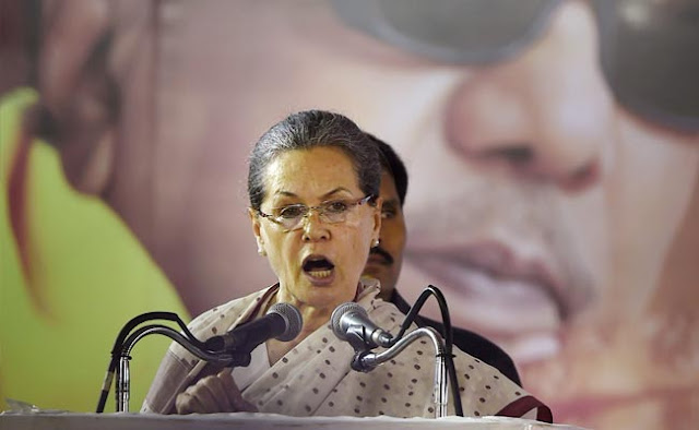 "Congress president Sonia Gandhi made a rare but emotional reference to her Italian origins in a speech in Kerala on Monday.   The 69-year-old leader said she had a family in Italy of whom she was not ashamed of.   ""I have a 93-year-old mother I am not ashamed of,"" she said. But she went on to say that India mattered more."