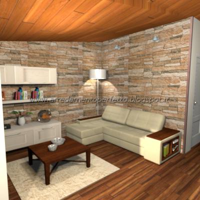 Consigli d 39 arredo la cucina soggiorno in mansarda in for Salotto classico moderno