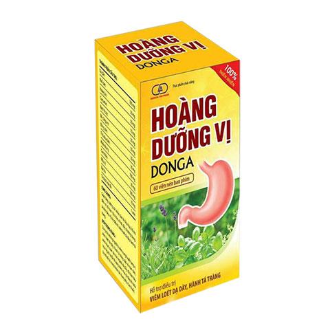 Hoàng Dưỡng Vị DongA, hỗ trợ giảm viêm đau dạ dày