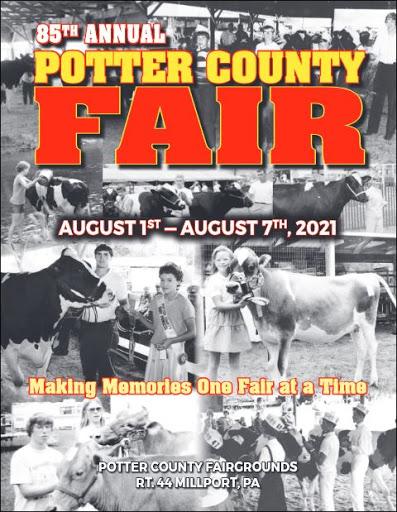 Potter County Fair Book