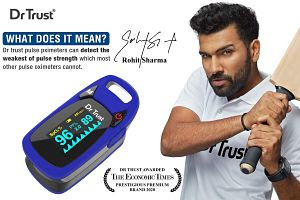 Best pulse oximeter in India for home use