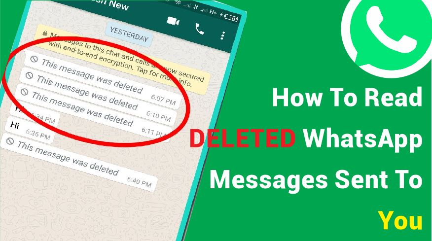 How To Read DELETED WhatsApp Massages