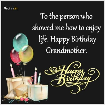 Happy Birthday Wishes for my Super grandmother