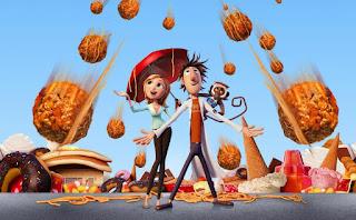 Lluvia de hamburguesas, películas de animación