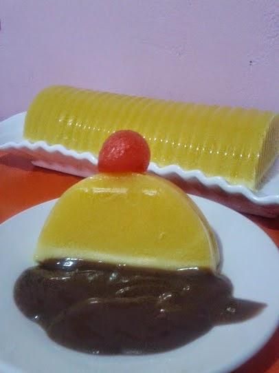 Cara Membuat Vla : membuat, Puding, Kuning, Dengan, Coklat