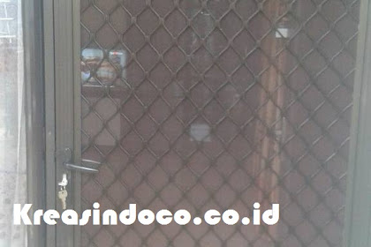 Pemasang Pintu Expanda Aluminium Di Rumah Bu Fitri Bojong Gede Bogor