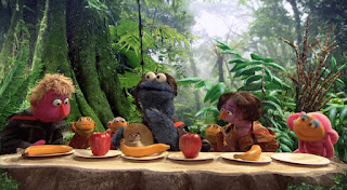 Cookie's Crumby Pictures The Hungry Games Catching Fur. Sesame Street Episode 4418 The Princess Story season 44
