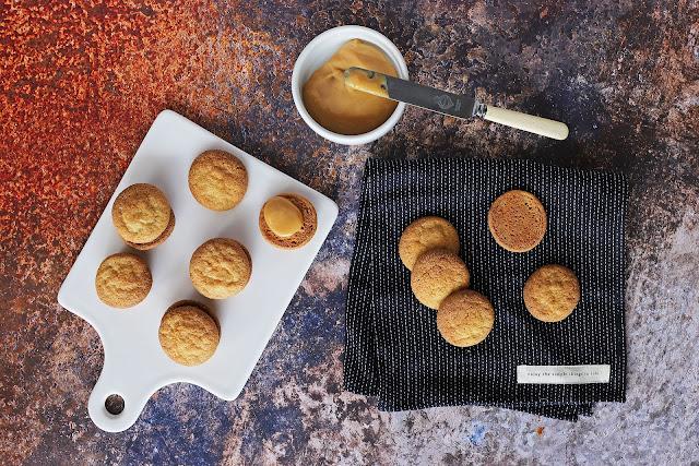 Συνταγή για Μπισκότα Γεμιστά με Dulce de Leche