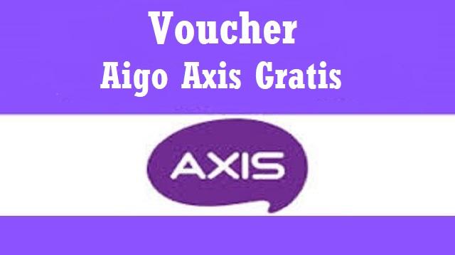 Voucher Aigo Axis Gratis