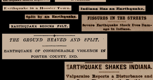 The Great Chesterton Earthquake of 1899