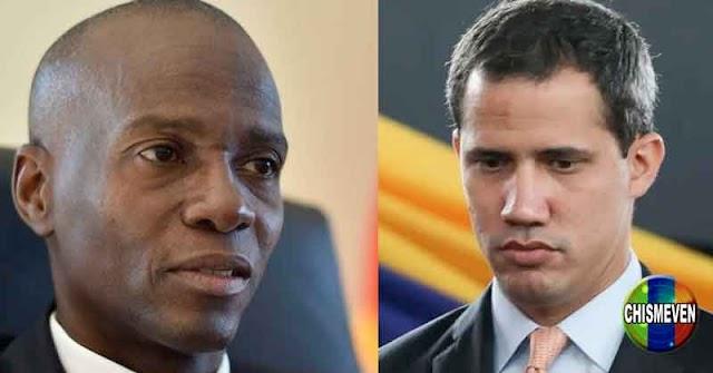 Juan Guaidó luchará por la libertad de Haití tras el asesinato de su presidente