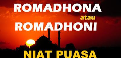 Kajian Irob Lafadz Ramadhan dari Niat Puasa Menurut Nahwu