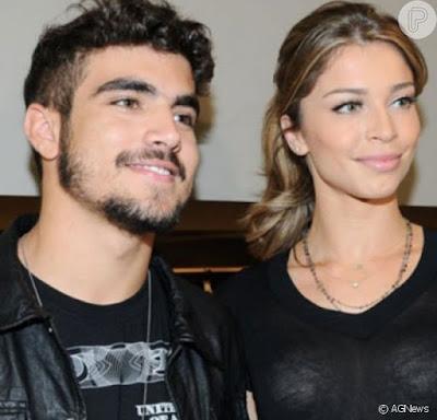 Grazi Massafera fala respeito de fotos com Caio Castro