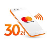 Bonus 30 zł za płatności kartą Mastercard w telefonie od ING Bank Śląskiego