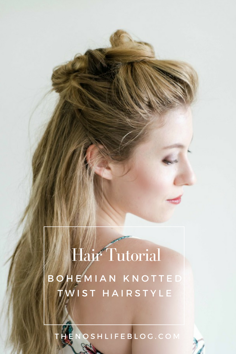 Bohemian Knotted Twist Tutorial
