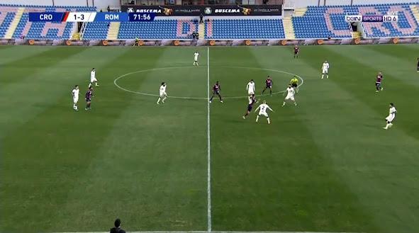 ملخص مباراة روما وكروتوني (3-1) اليوم الاربعاء في الدوري الايطالي