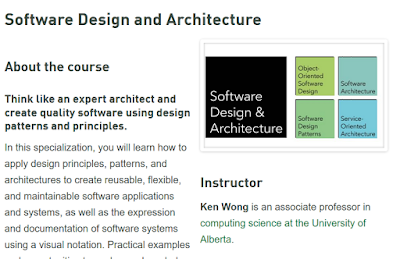 best course to learn software architecture