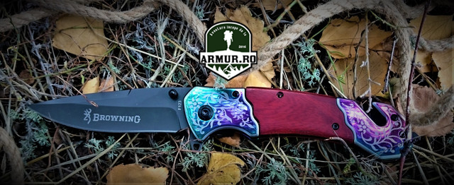 Briceag Browning F123 vanatoare supravietuire Knife Cutit