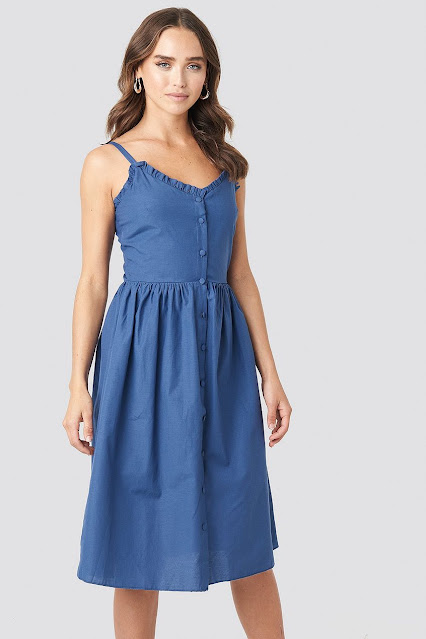 Sukienka midi na lato