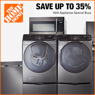 Home Depot offering Up to 35% off