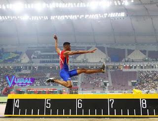 Contoh Gambar Lapangan Lompat Jauh