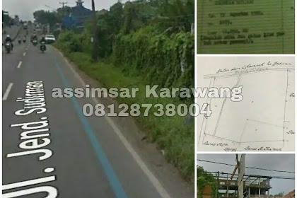 Di Jual Lahan Tanah Di Cikampek Karawang Pinggir Jalan Raya