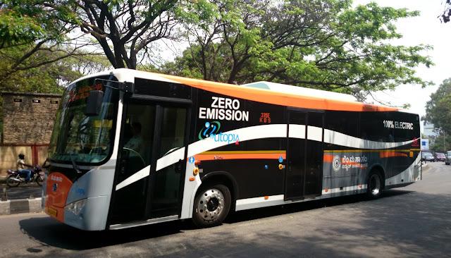 Ashok Leyland Electric Bus in India